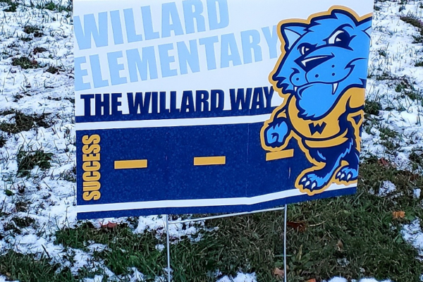 Willard Yard Signs available – click here to see dates and times for pick up